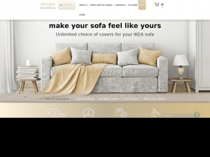 Exceptional sofa covers purchased at the Ikea store